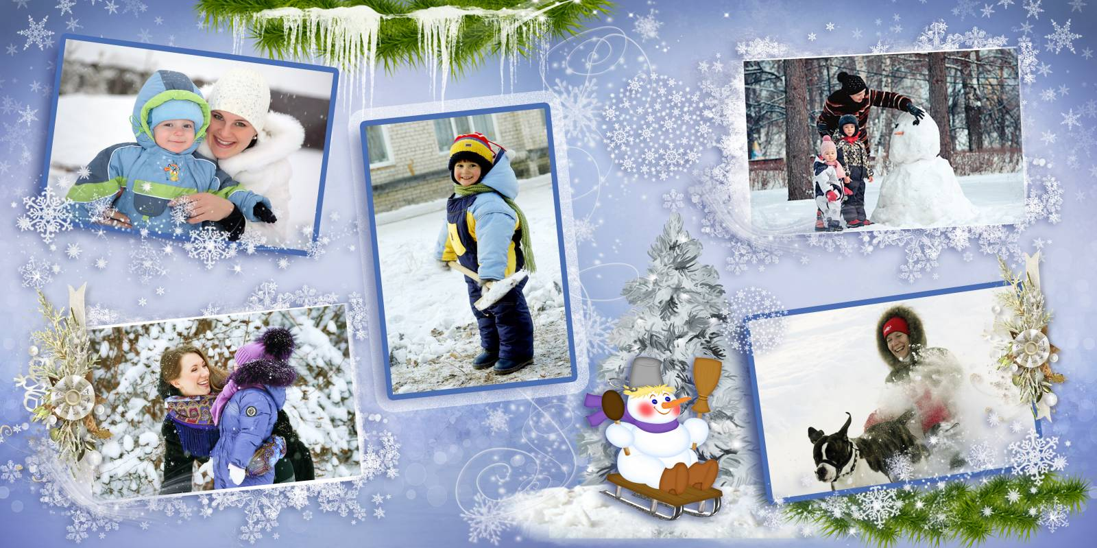фото книга, зимняя, зима, семейная